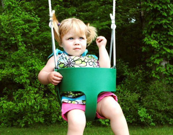 Bucket Toddler Swing (Rope)