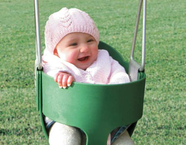 Bucket Toddler Swing (Chain)