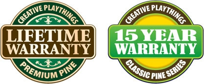 Creative Playthings Lifetime Warranty