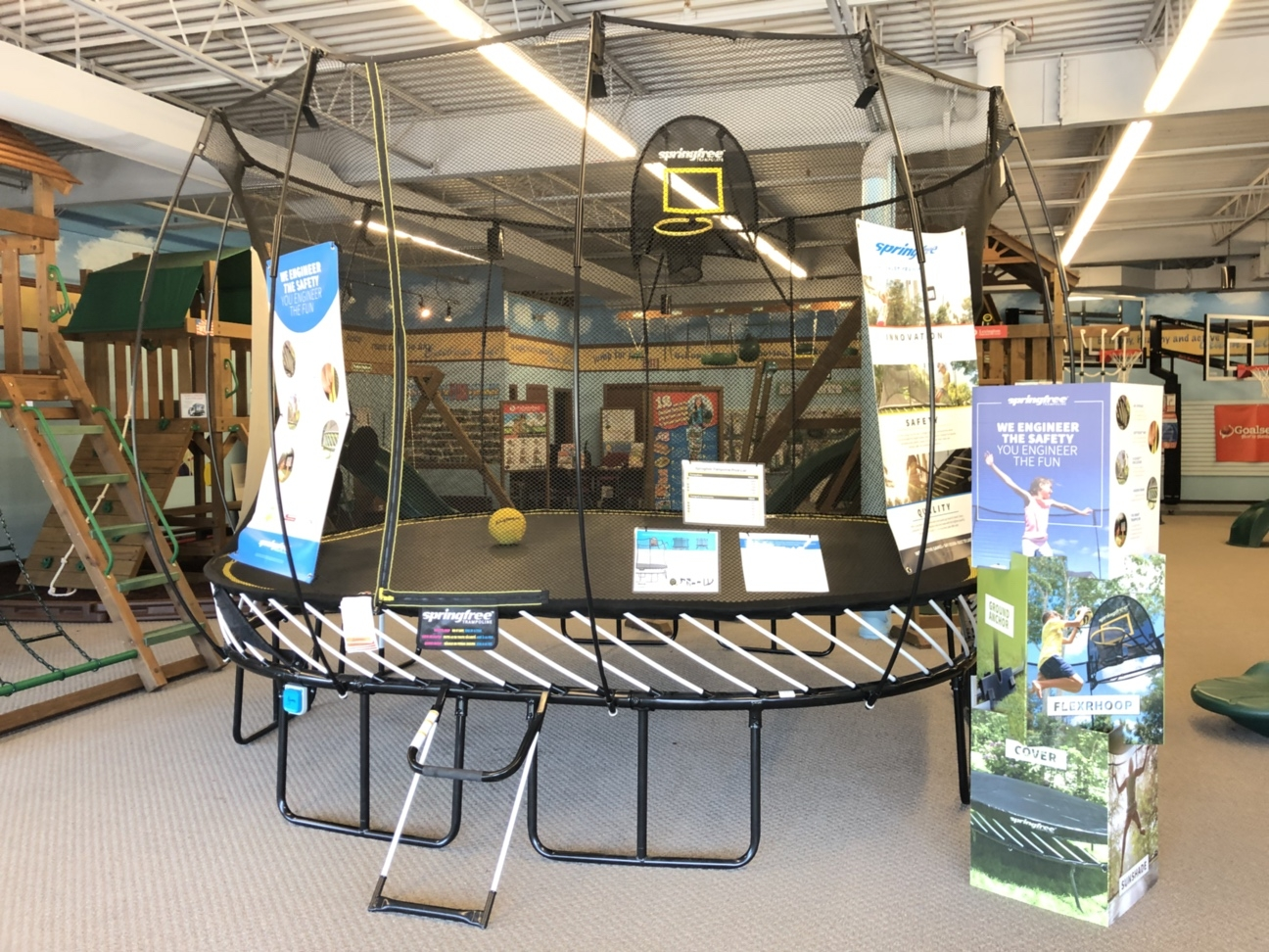 Swing Set Springfree Trampolines Acton MA