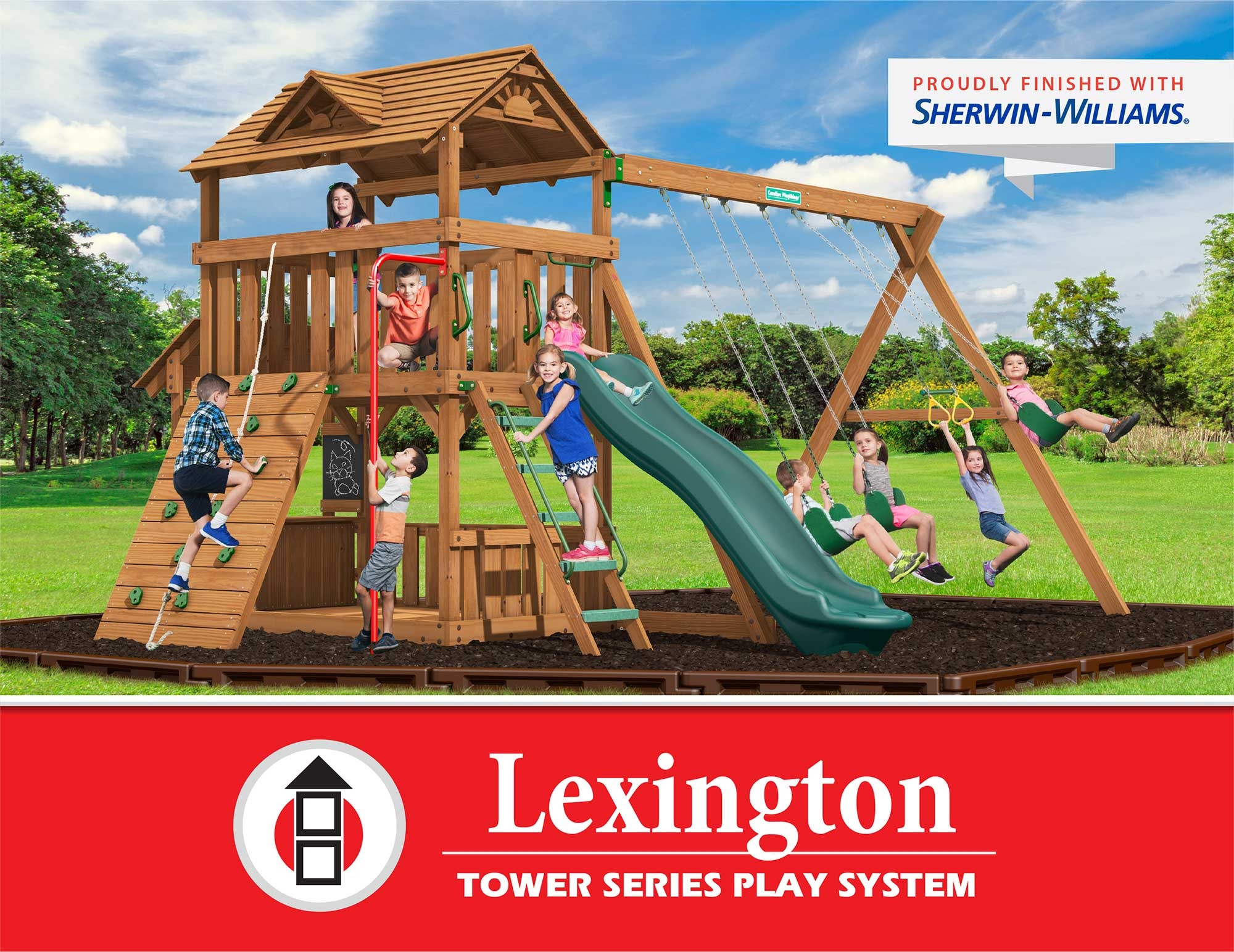 Creative Playthings Lexington Tower Series Play System