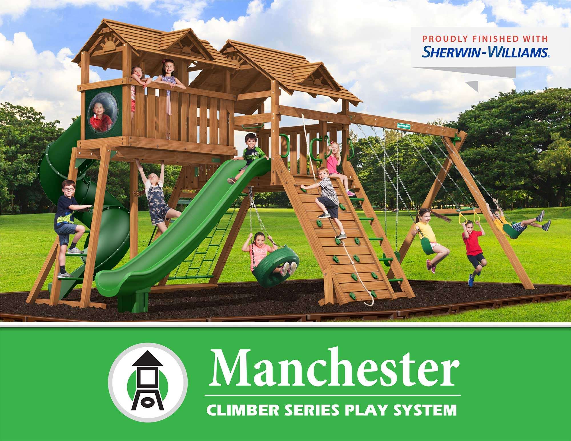 Creative Playthings Manchester Climber Series Play System