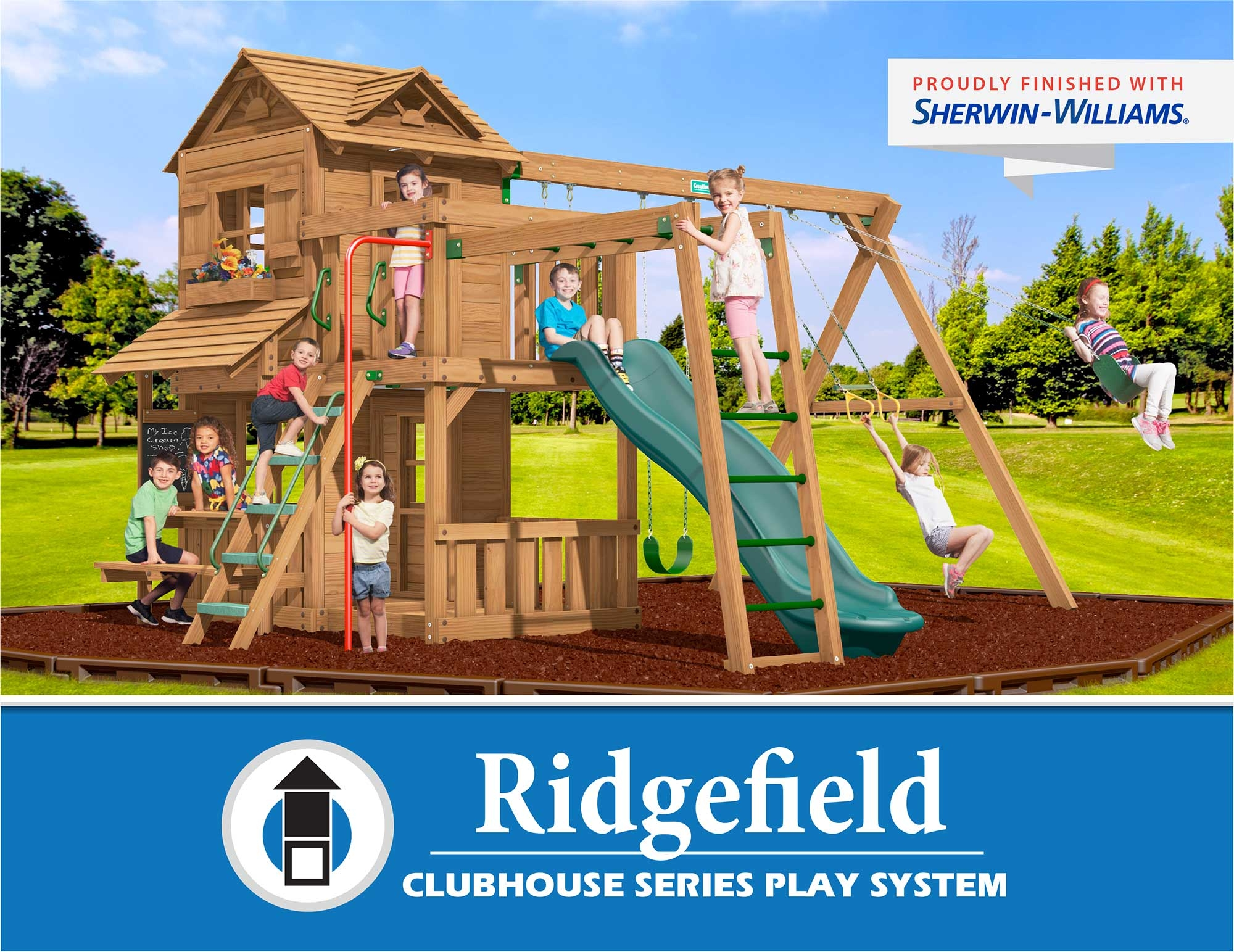 Creative Playthings Ridgefield Clubhouse Series Play System