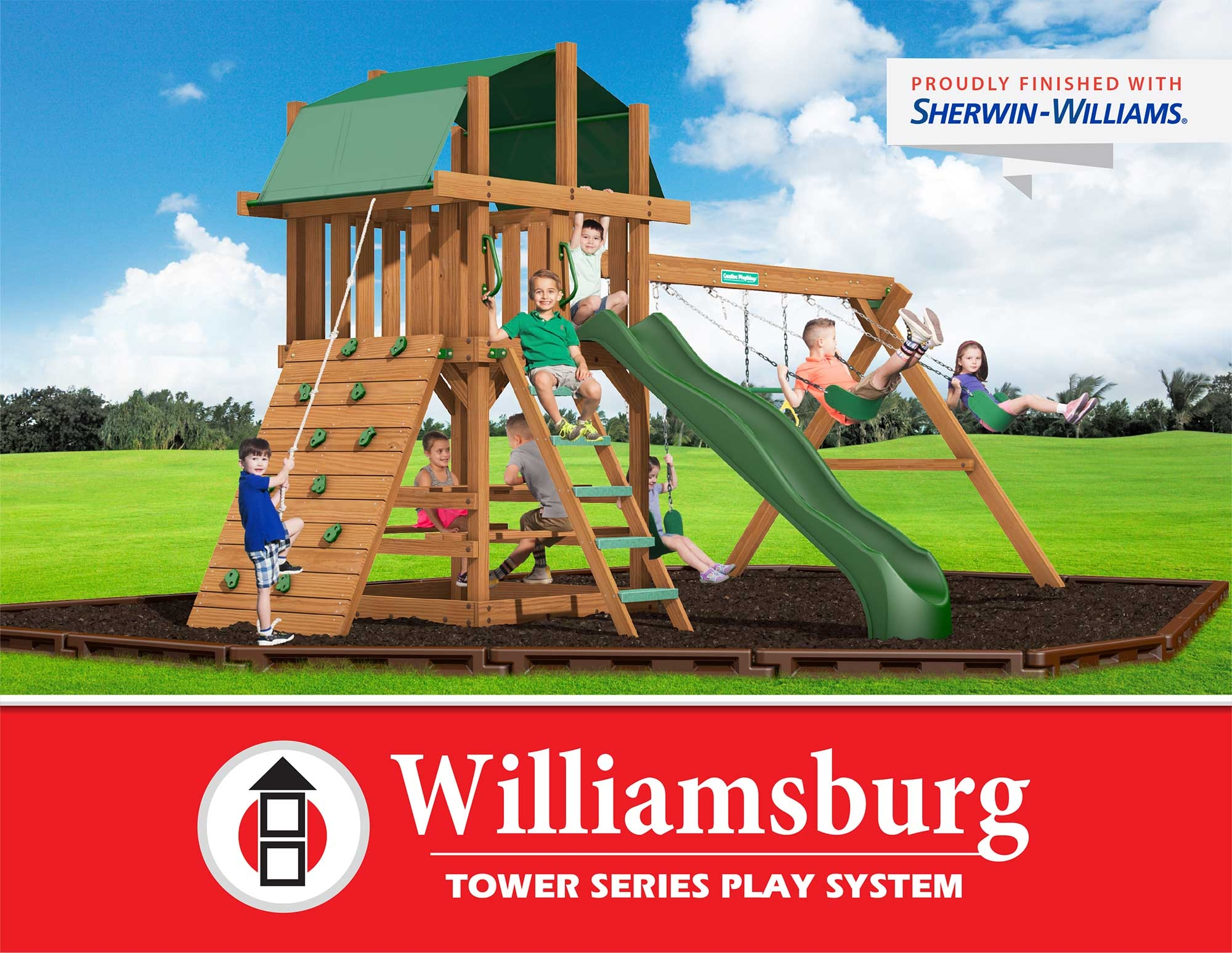 Creative Playthings Williamsburg Tower Series Play System