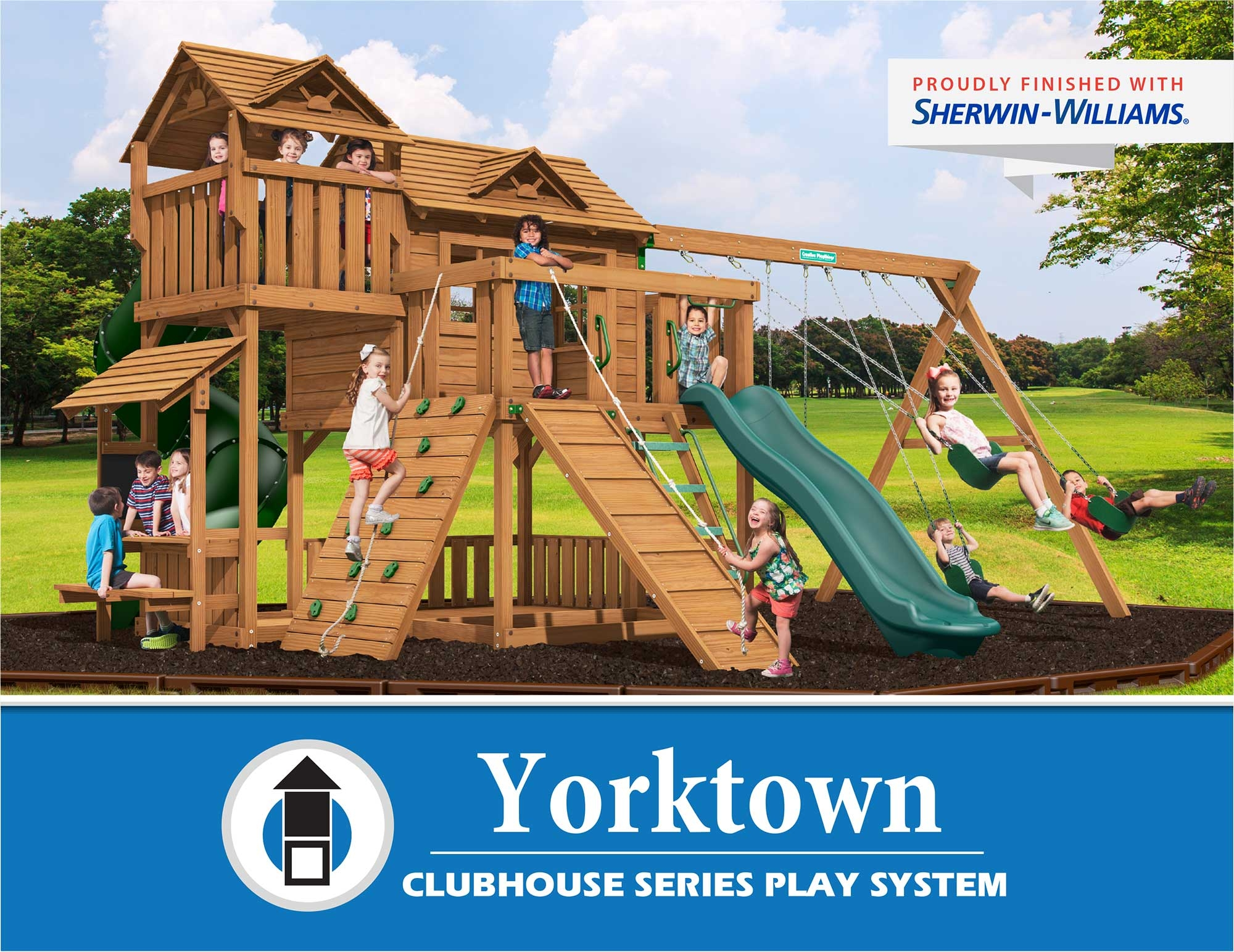 Creative Playthings Yorktown Clubhouse Series Play System