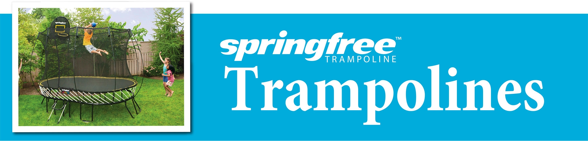 Springfree: the world's safest trampoline!