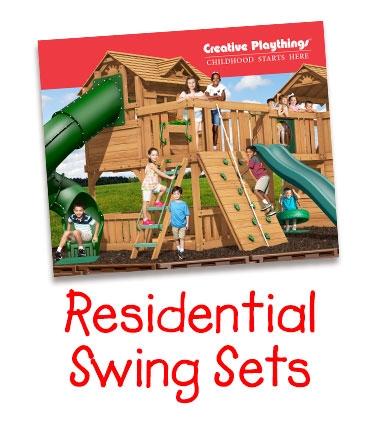 Creative Playthings Residential Swing Set