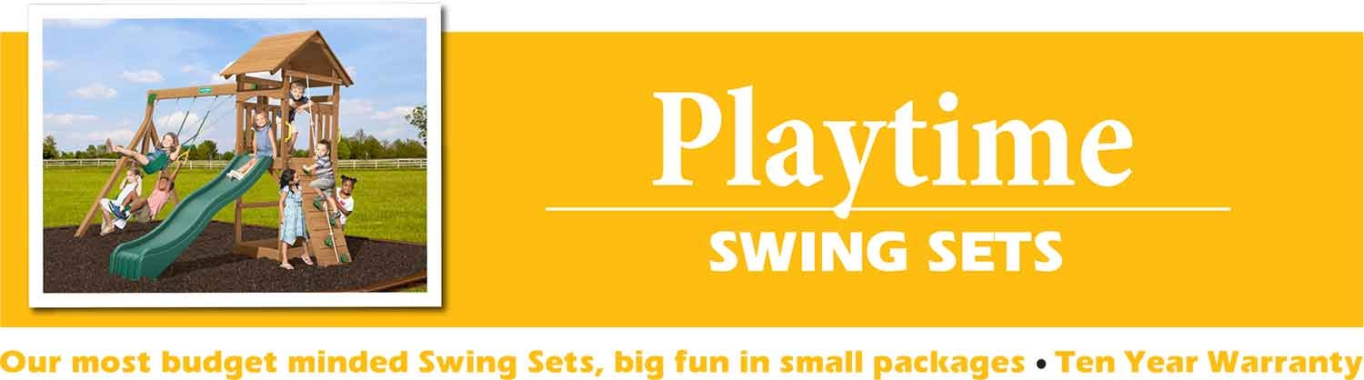 Playtime Swing Sets playsets