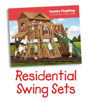 Creative Playthings Residential Swing Set
