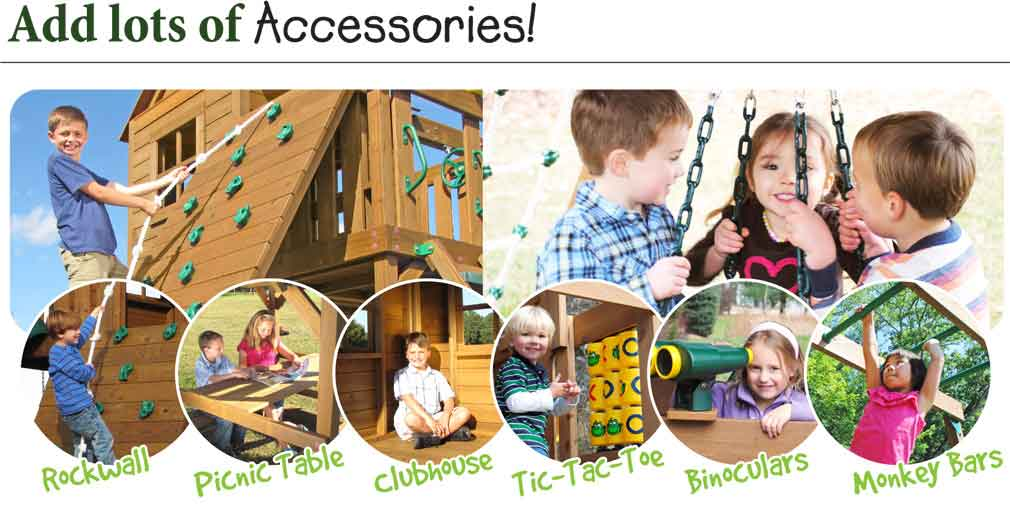 Add lots of Accessories!