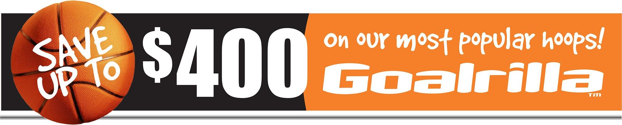 Goalrilla® Basketball Systems Promotion