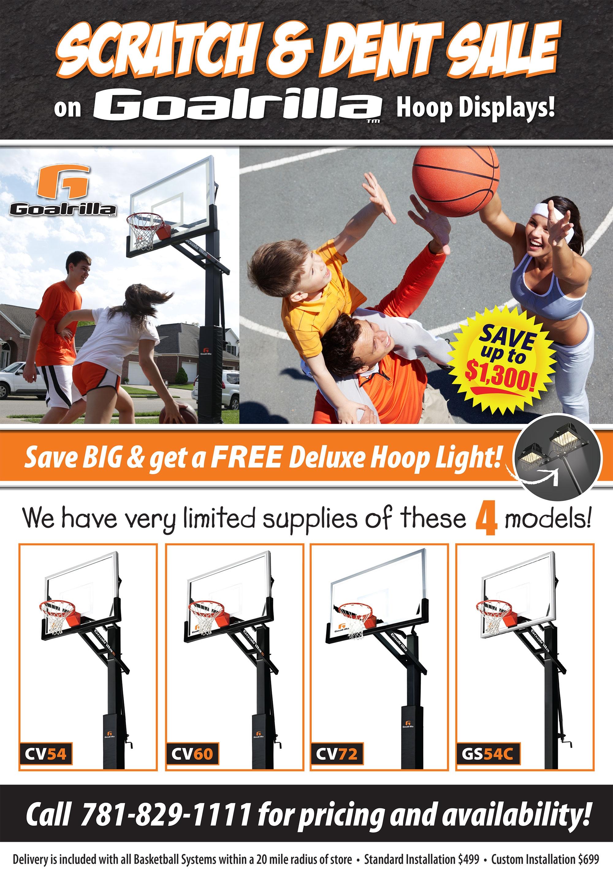 Goalrilla® Basketball Hoops Sale
