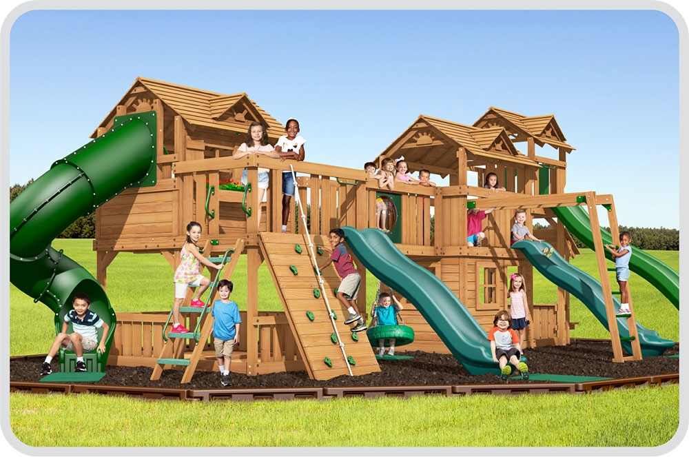 Combination Sets Swing Sets playsets
