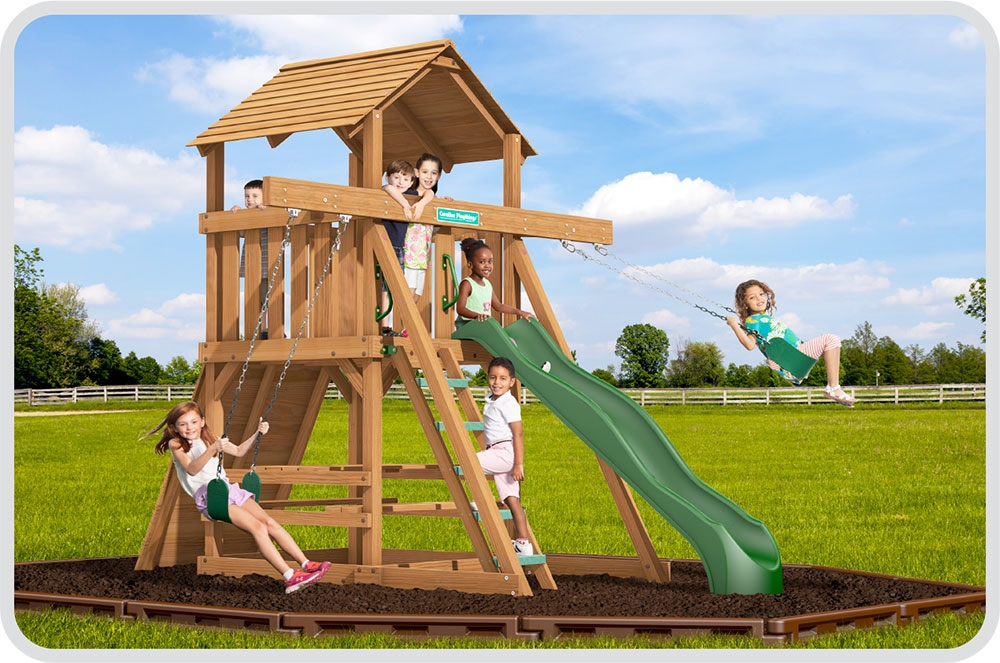 Space Saver Swing Sets playsets