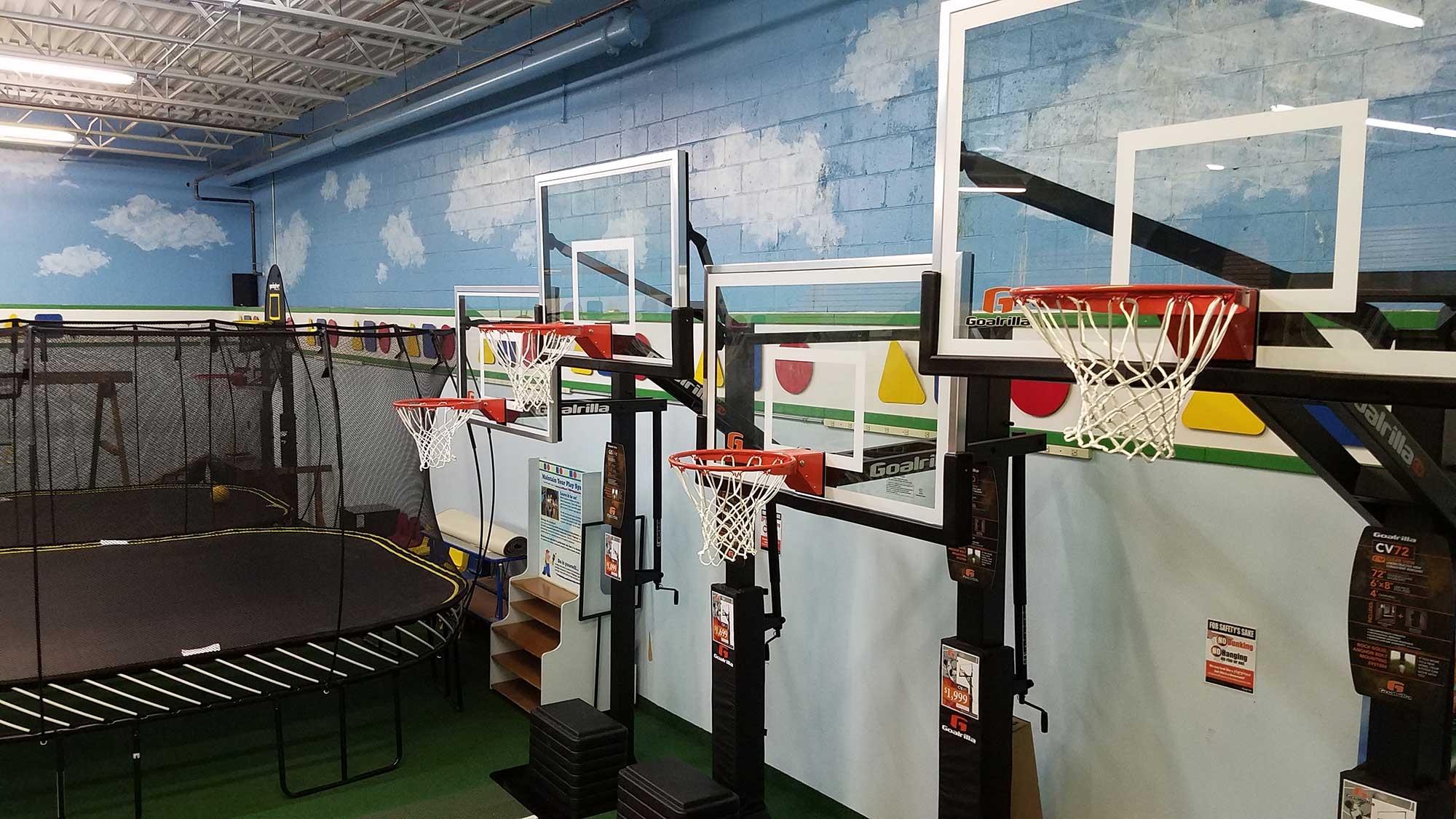 Swing Sets Goalrilla Basketball Pembroke MA