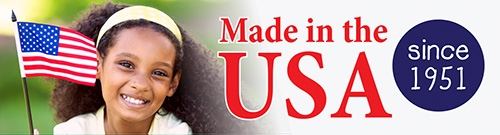 Proudly Made in the USA since 1951