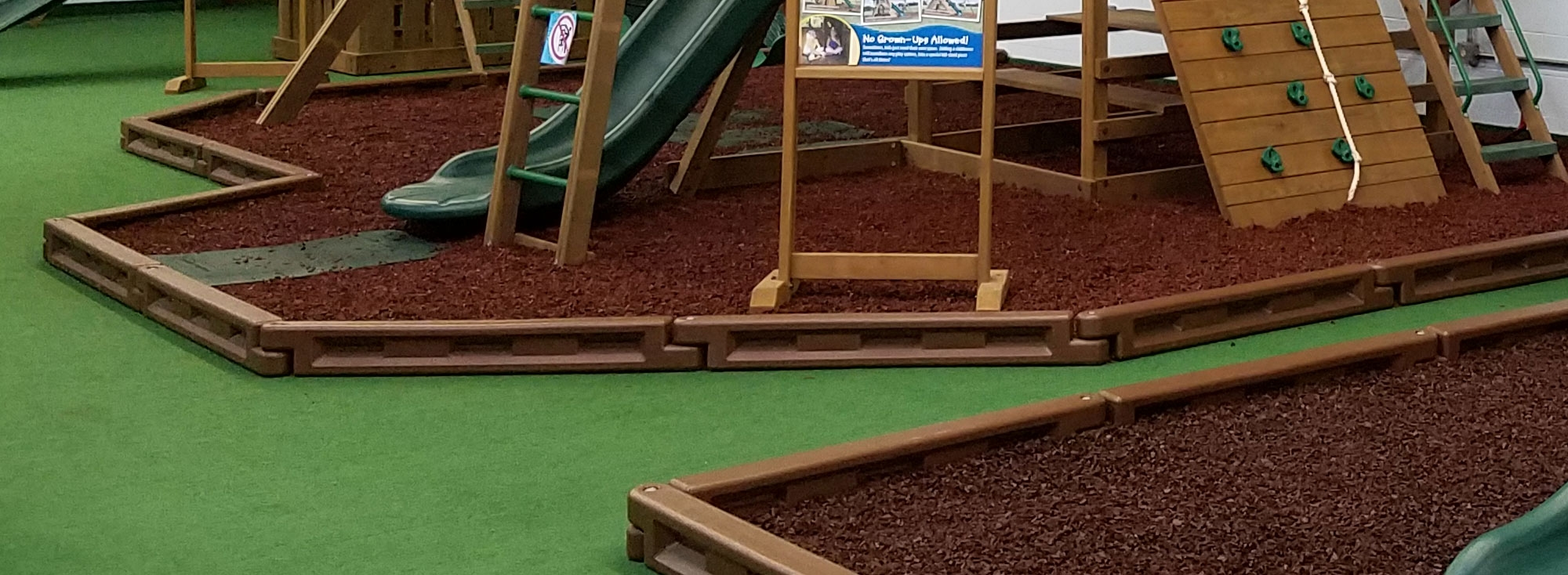 Creative Playthings rubber mulch playset surfacing